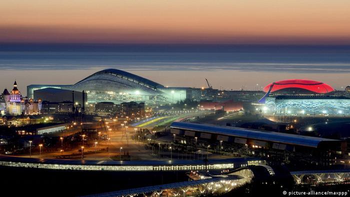 Олимпийские объекты в Сочи