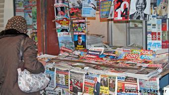 Symbol Zeitungsvielfalt Tunesien