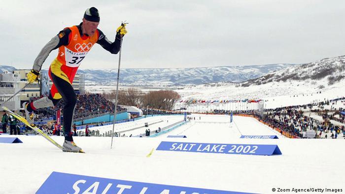 Йоханн Мюлегг на Олимпийских Играх в Солт-Лейк-Сити