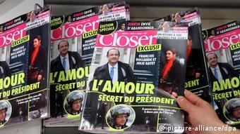 Francois Hollande Zeitung Affäre