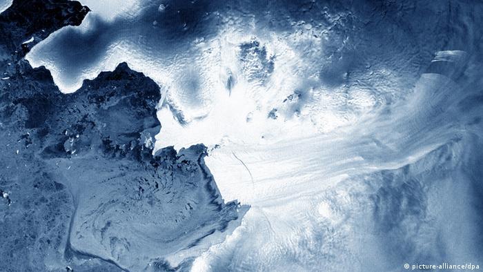 Geleira Pine Island, no oeste da Antártida