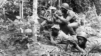 Soldaten im Biafra-Krieg 1967 - 1970