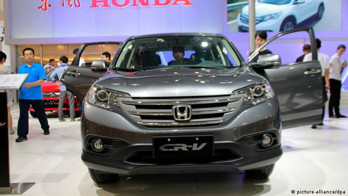 The best-selling car in 2013, the Honda CR-V