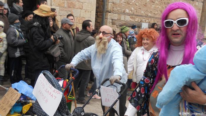 Karneval in Vevcani (DW/M. Jovanoski)