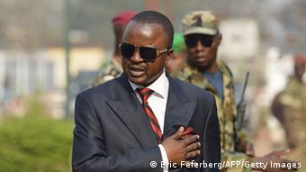 Alexandre-Ferdinand Nguendet, Übergangspräsident der Zentralafrikanischen Republik
