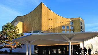 The Berlin Philharmonic building
