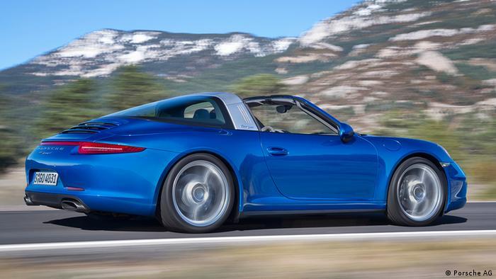 USA Deutschland Auto Detroit 2014 Porsche 911 Targa