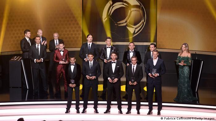 حفل توزيع جوائز الكرة الذهبية لعام 2013
