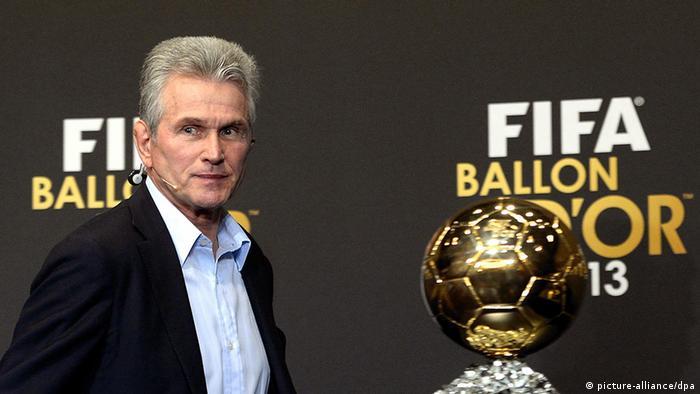 Schweiz Fußball FIFA Jupp Heynckes zum Welttrainer 2013 gekürt (picture-alliance/dpa)