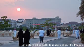 Saudi-Arabien Straßenszene