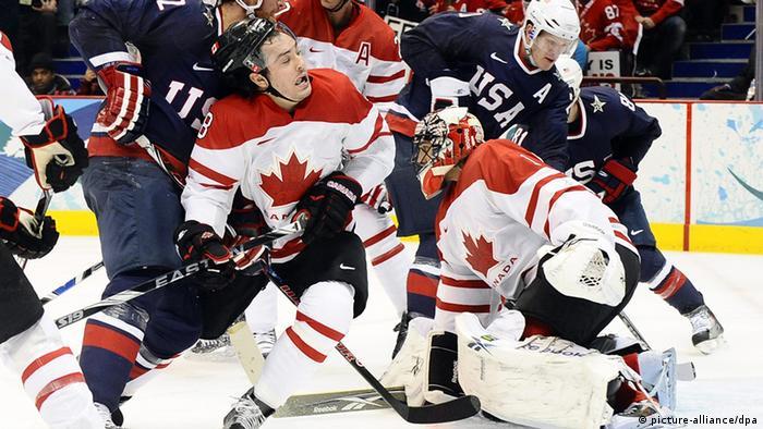 USA Kanada Eishockey WM Gruppengegner USA