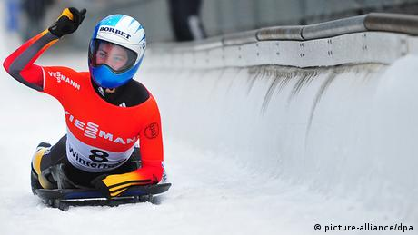 German Skeleton's Marion Thees