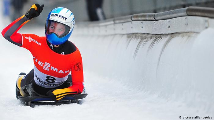 Deutschland Sport Skeleton Marion Thees