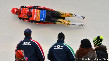 Luge World Cup in Oberhof