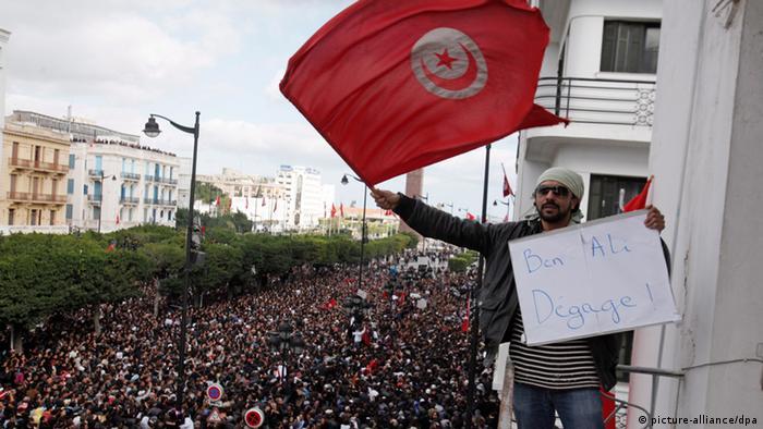 Tunesien 3. Jahrestag Umsturz