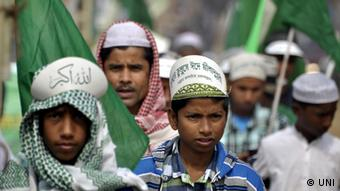 Muslime Kundgebung Eid Milad-e-Nabi