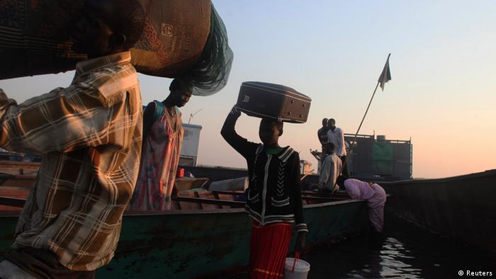 Refugees in Minkaman, South Sudan
