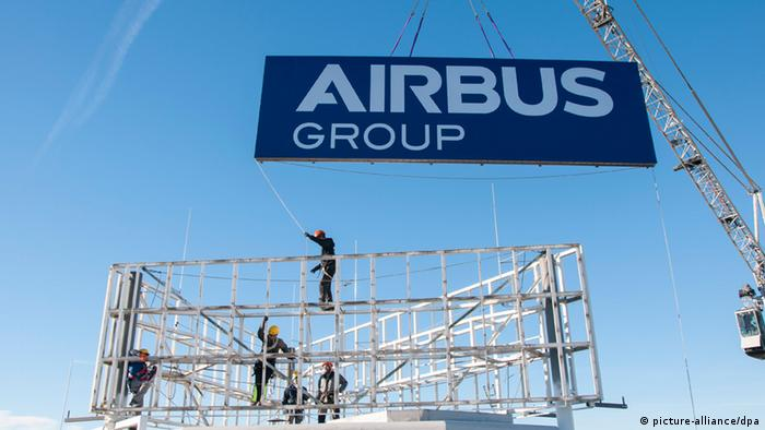 Airbus Group neues Logo (picture-alliance/dpa)