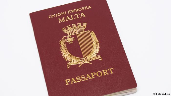 Reisepass Malta (Fotolia/keki)