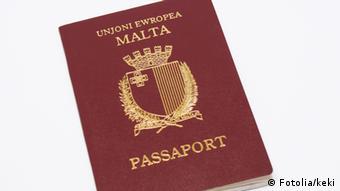 Reisepass Malta
