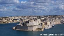 Hafen von La Valetta Malta