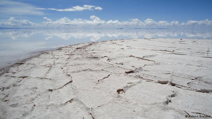 Salina de Uyuni, na Bolívia: país concentra as maiores reservas de lítio do mundo