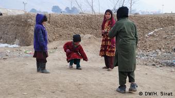 Binnenflüchtlinge in Kabul