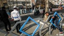 Bildergalerie Iran Fußgänger