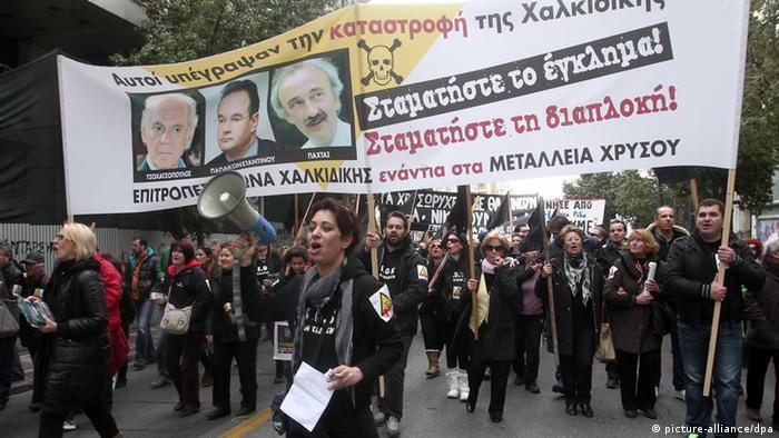 Demonstrators (photo: picture alliance/dpa)