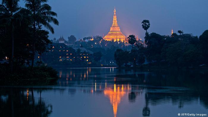 Yangon Myanmar Shwedagon Pagode Temple