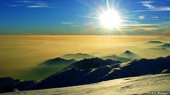 Гора Точал в Тегеране
