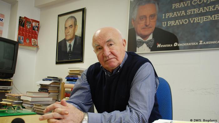 Anđelko Mijatović u svom stanu