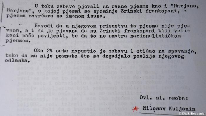 Protokol o praćenju Marka Grubišića