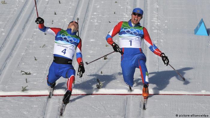 Kriukov und Panzhinskiy Olympische Spiele 2010