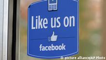 Facebook Like Logo Button