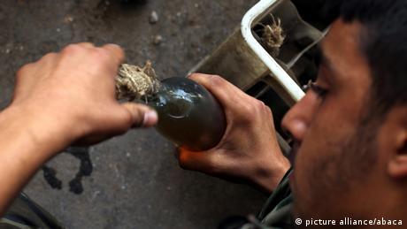 Kämpfer der FSA in Syrien ARCHIV 10.08.2012