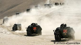 German military convoy in Afghanistan