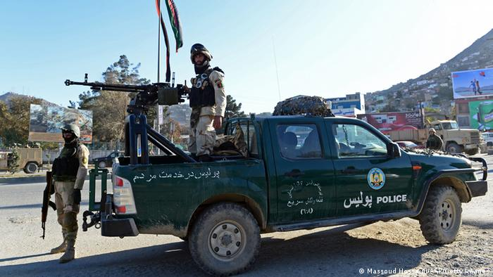 Afghanistan Polizei Kabul 2013 (Massoud Hossaini/AFP/Getty Images)