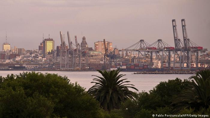 The port of Montevideo (Pablo Porciuncula/AFP/Getty Images)