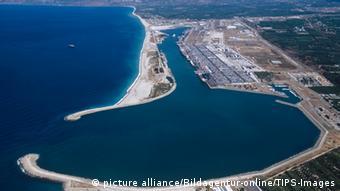 Hafen von Gioa Tauro (Foto: picture alliance/Bildagentur-online/TIPS-Images)
