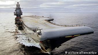 Der Flugzeugträger Admiral Kusnezow (Foto: picture-alliance/dpa)
