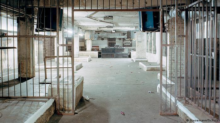 Der Tresor Club in Berlin 2013, verlassen und leer. Foto: Giesemann/Schulz