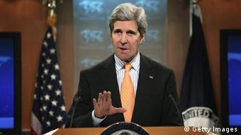 US-Außenminister John Kerry Washington Rede Syrien 16.01.14