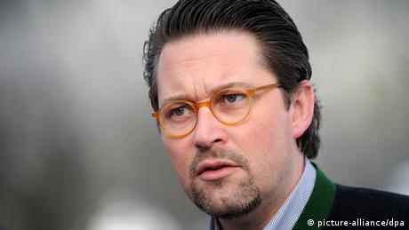 Deutschland Parteien CSU-Generalsekretär Andreas Scheuer