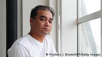 Professor Ilham Tohti, Archivbild von 2010 (Foto: FREDERIC J. BROWN/AFP/Getty Images)