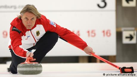 German Curling-Team for Sochi games
