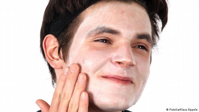 Proteger o rosto contra o frio