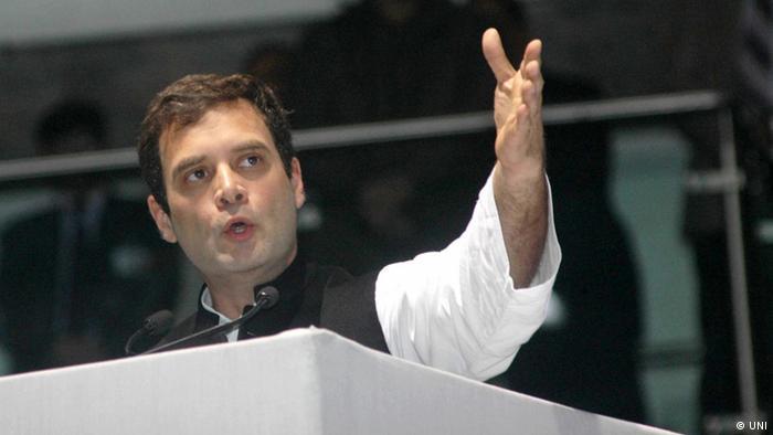 Indien Politik Kongress Rahul Gandhi