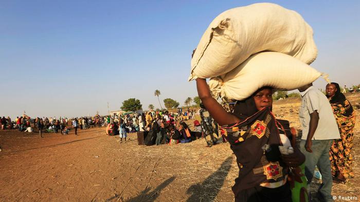 Konflikt im Südsudan Flüchtlinge 16.01.2014