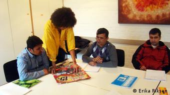 Studenten helfen Asylbewerber im Lankreis Eichstätt (Foto: Erika Riksen)